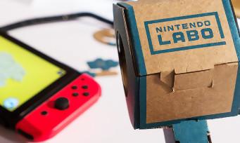 Nintendo Labo : voilà pourquoi Nintendo a choisi le carton