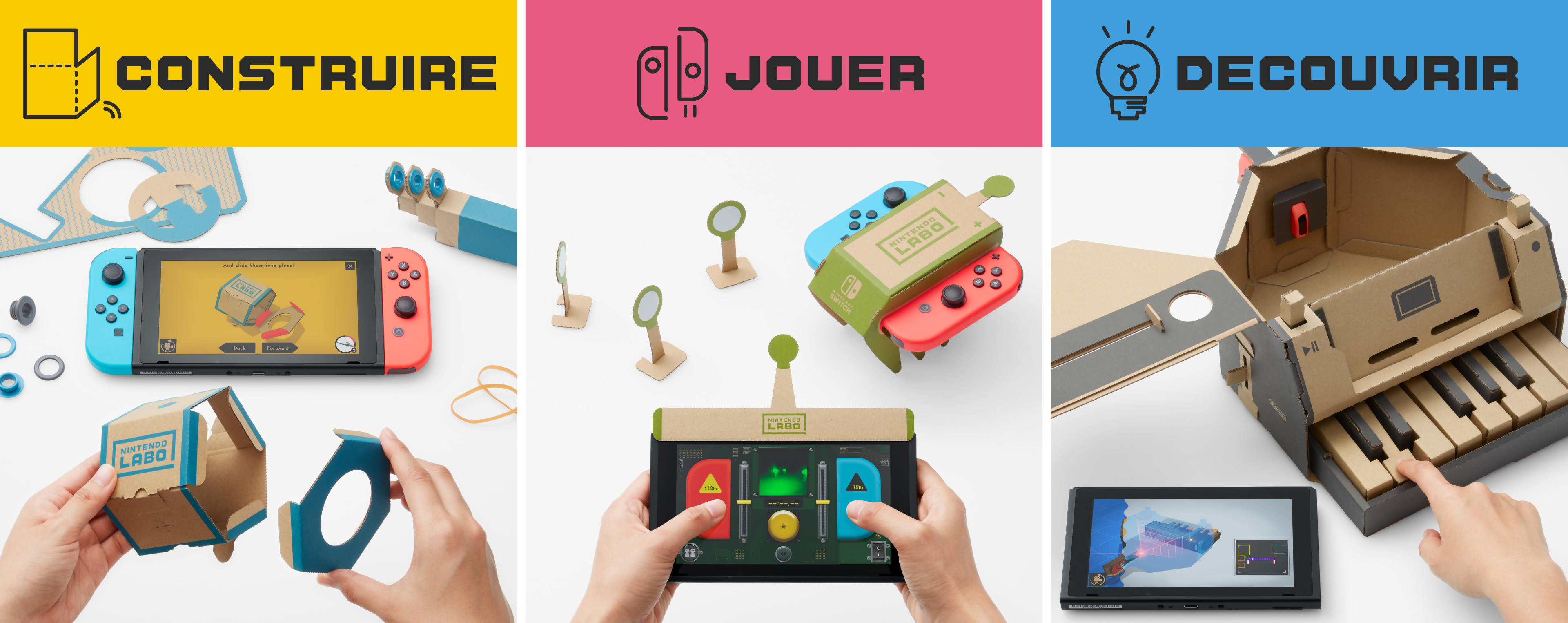 Nintendo Goomba Toys N Joys : Nintendo labo comment ça marche on vous explique tout