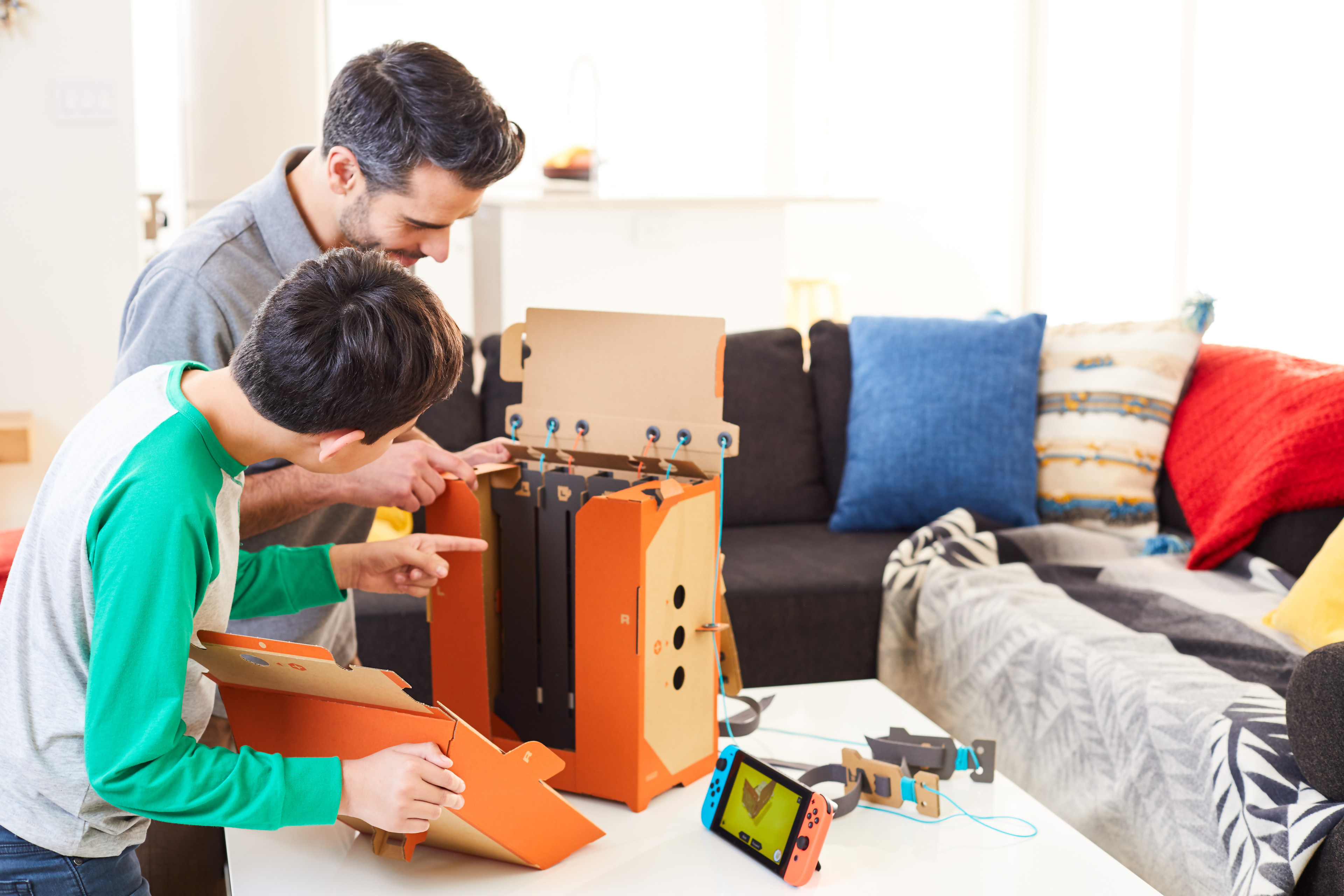 nintendo labo comment a marche on vous explique tout. Black Bedroom Furniture Sets. Home Design Ideas