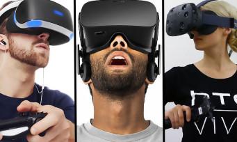 Réalité virtuelle : les joueurs américains ne sont pas intéressés