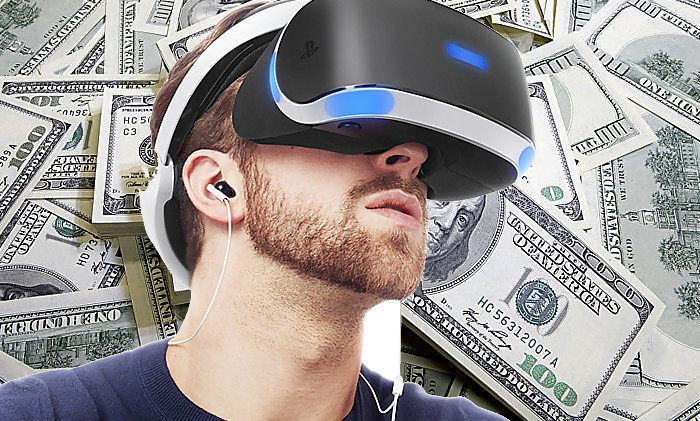 playstation vr le casque de r alit virtuelle de la ps4 est d j rentable. Black Bedroom Furniture Sets. Home Design Ideas