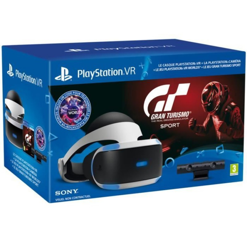 ps vr un bundle avec gran turismo sports la cam ra 399. Black Bedroom Furniture Sets. Home Design Ideas