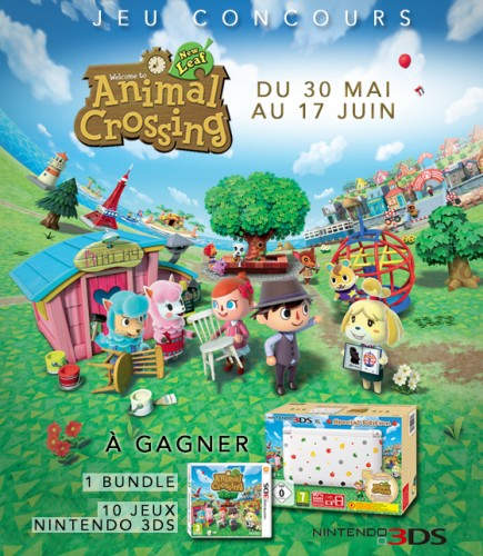 Jeu concours animal crossing new leaf 1 bundle et 10 - Animal crossing new leaf salon de detente ...