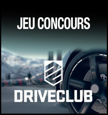 20 jeux driveclub exclu ps4 gagner. Black Bedroom Furniture Sets. Home Design Ideas