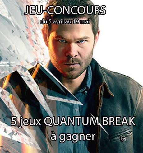 Quantum Break : 5 jeux à gagner sur Xbox One !