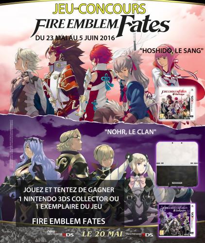 Jeu-concours Fire Emblem Fates
