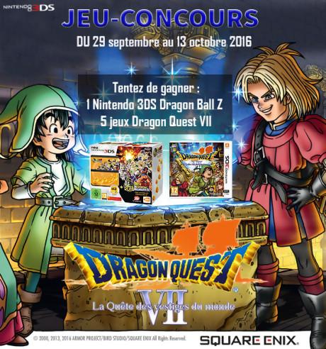 Jeu-concours Dragon Quest VII : La Quête des Vestiges du Monde