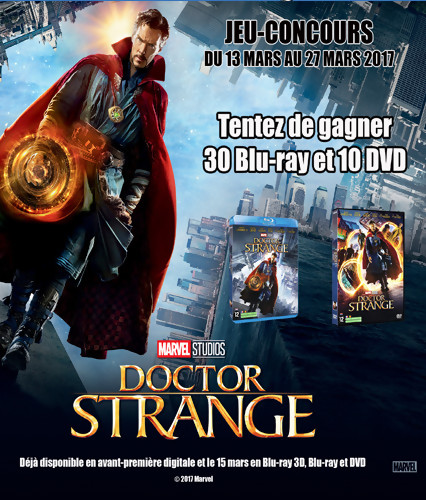 Jeu-concours Doctor Strange