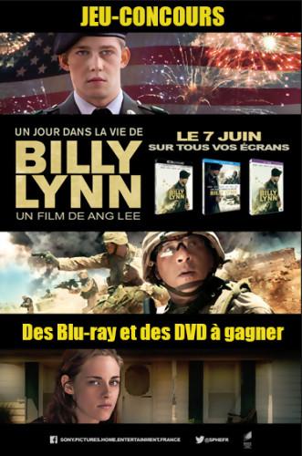 Jeu-concours Un jour dans la vie de Billy Lynn