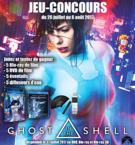 "Jeu-concours ""Ghost in the Shell"""