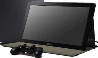 PS4 : un écran portable de 15,6 pouces signé Hori