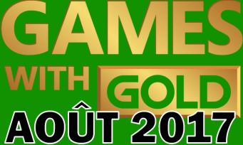 Xbox One / Xbox 360 : la liste des jeux gratuits pour août 2017
