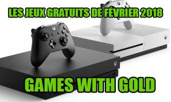 Xbox One / Xbox 360 : la liste des jeux gratuits pour février 2018