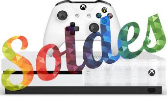 Microsoft : la Xbox One S, des jeux et des accessoires à prix réduit