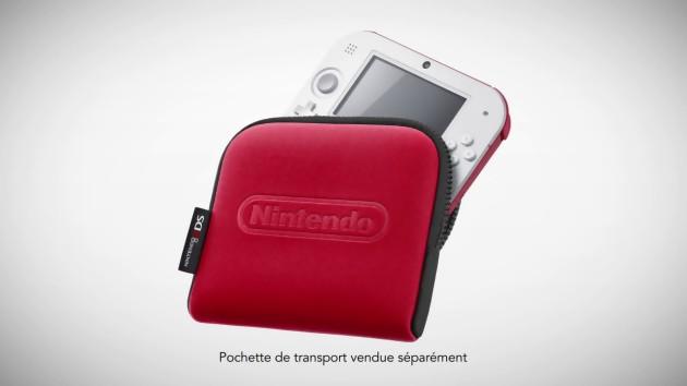 Nintendo 2ds toutes les vid os de la console portable for Housse 2ds pokemon