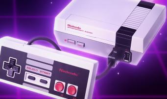 Mini NES : une image qui compare la première console et la nouvelle