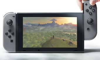 Nintendo Switch : écran tactile multi-touch et résolution 720p confirmés par Eurogamer