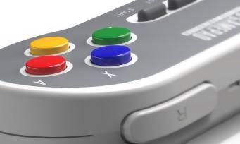 Mini Super NES : des manettes sans-fil plutôt classes signées 8Bitdo