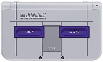 New 3DS XL : la console collector Super NES arrive aux USA