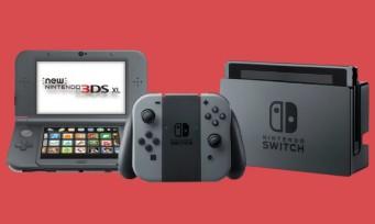 Nintendo : les chiffres de vente de la Switch et 3DS et c'est assez insolent