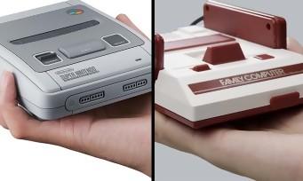 Nintendo : un pack spécial avec la NES Mini et la Super NES Mini