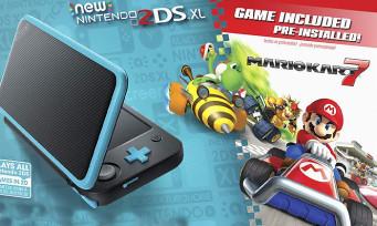 2DS XL : trois nouveaux packs Mario Kart 7 pour les Etats-Unis