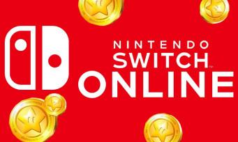 Nintendo Switch Online : les points or pourront être dépensés dans l'abonnement