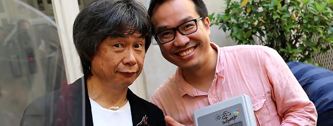 Shigeru Miyamoto : le créateur de Mario en visite chez JEUXACTU !