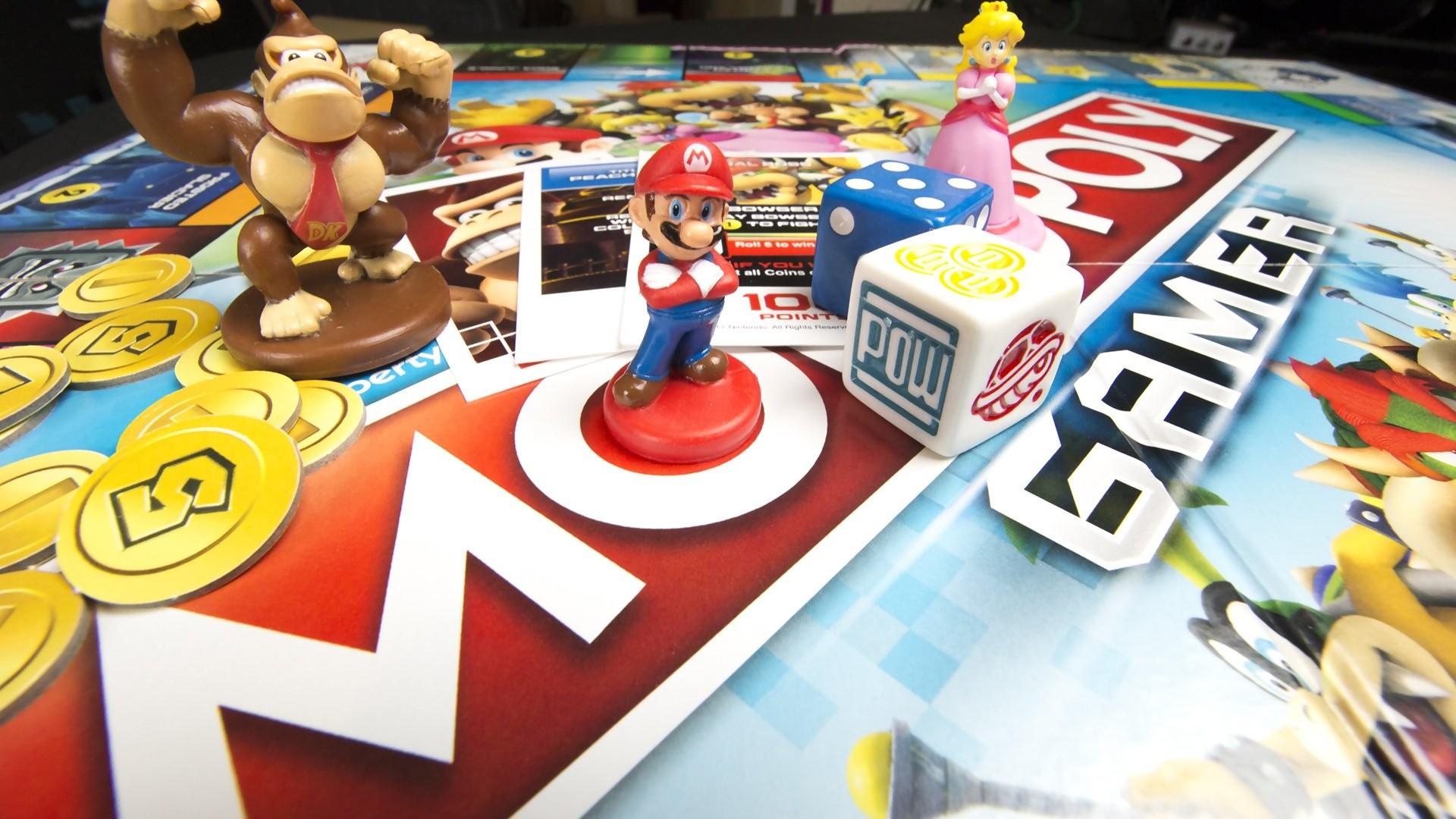 monopoly gamer mario voici la vid o du jeu de plateau de nintendo. Black Bedroom Furniture Sets. Home Design Ideas
