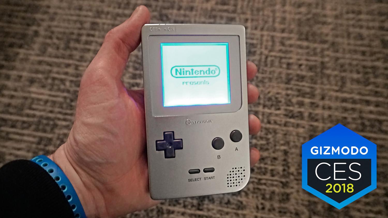 Hyperkin ressuscite la Game Boy au CES 2018
