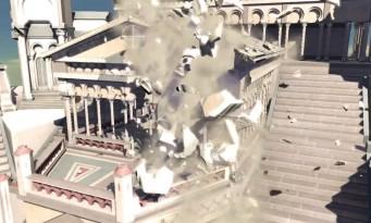 Nvidia : la vidéo de son moteur de destruction sur PS4