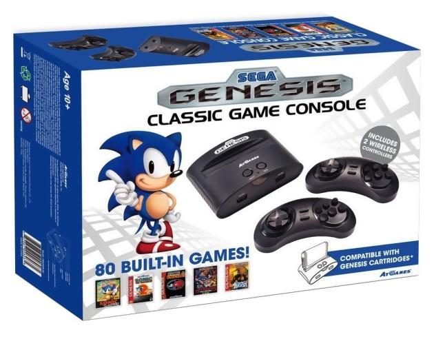 Sega une nouvelle megadrive r tro en vente cet t - Atgames sega genesis classic game console game list ...
