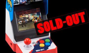 NEOGEO Mini : sortie hier au Japon, la console est déjà sold-out !