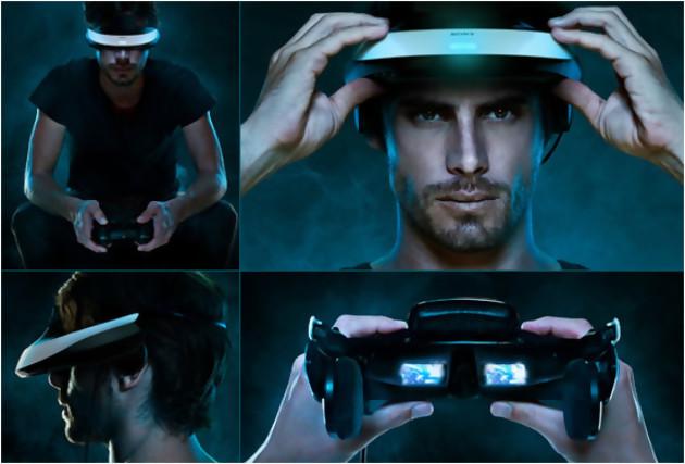 ps4 un casque de r alit virtuelle pour contrer l 39 oculus rift. Black Bedroom Furniture Sets. Home Design Ideas