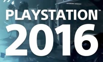 PS4 : une vidéo rétrospective de l'année 2016 qui envoie du lourd