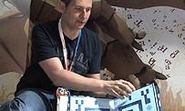 Marcus teste le Wonderbook à l'E3 2012