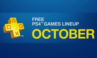 Playstation Plus : voici les jeux gratuits du mois d'octobre 2016