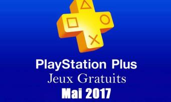 PlayStation Plus : voici la liste des jeux gratuits pour le mois de mai 2017
