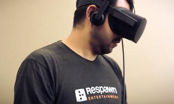 Respawn : 1ère vidéo du jeu VR exclusif Oculus des créateurs de Titanfall