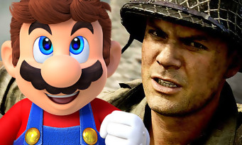 Charts France : Call of Duty WW2 et Super Mario Odyssey impertubables