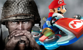 Charts France : Mario Kart 8 Deluxe et Call of Duty WW2 au sommet