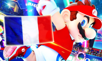 Charts France : Mario Tennis Aces gagne le grand chelem
