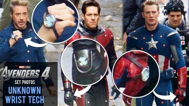 Avengers 4 des photos du tournage qui voquent le voyage dans le temps - Film porte avion voyage dans le temps ...