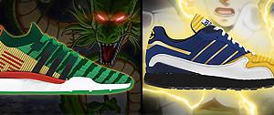 Adidas x Dragon Ball Z : des baskets décevantes ? Les modèles en images