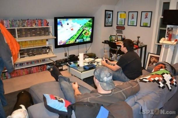 Jeux vidéo  la chambre de rêve de tout gamer
