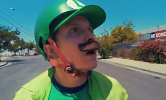 Mario Kart Skate : une course de skate entre Mario et Luigi en vidéo
