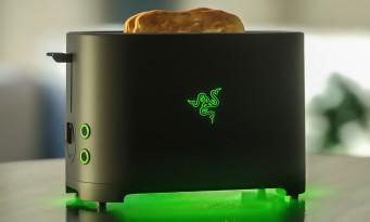 Razer sort un grille-pain haut de gamme pour gamers fortunés !
