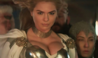 Game of War : Kate Upton sort le décolleté pour le Super Bowl