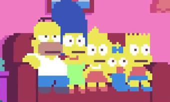 Les Simpsons : le générique du dessin animé en mode 8-bit