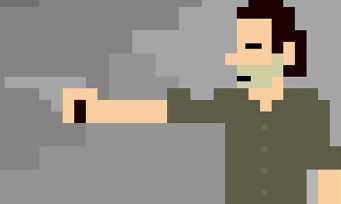 The Walking Dead : Cinefix adapte la série en jeu 8-bit